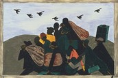 The Great Migration Series, Panel No. 3