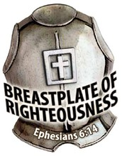 """The second piece of armor Paul mentions in Ephesians 6:14 is """"the breastplate of righteousness."""" Why is the breastplate important—for both ancient soldiers and us?"""
