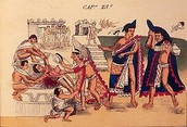 Aztecs obsessed with making sacrifices!