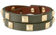 Pyramid Double Wrap Bracelet - $44.25