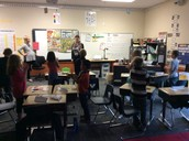 We are enjoying Junior Achievement!