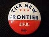 Kennedy pin used during the 1960 election