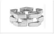 Silver Garbo Bracelet