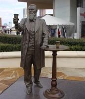 Statue of Dr. John S. Pemberton