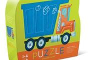 פאזל משאית עפר 12 חלקים
