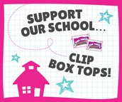 Box Tops Fall Collection Drive Starts Next Week!