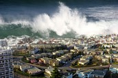 In the biggest tsunami 280,000 people died.