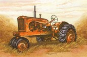 Selling old tractors and parts