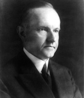 Calvin Coolidge During his presidential run