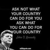 JFK sayings