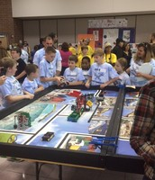 First Lego League Competition at DMS