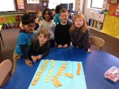 Graphing shape crackers!