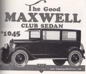 New 1923 Maxwell Club Sedan