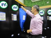 Mint Locker has been conveniently placed in your dealership for easy dry cleaning/wash & fold services!