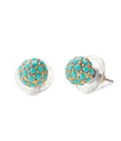 Soiree Studs-Turquoise