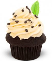Chocolate Chip Mint Cupcake