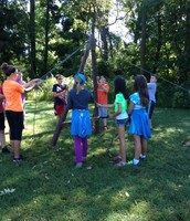 Sixth-Graders Go to Camp