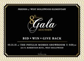 Gala Auction Pre-Sale Tickets