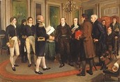 Peace treaty with Britain
