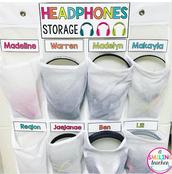 Storage Idea for Headphones