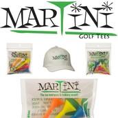 Martini Golf Tees