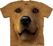 la camiseta de perro es amarillo $25