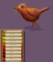 What an amazing bird done on Art Set!
