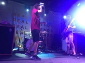 Real Friends performing