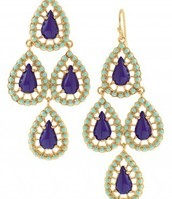 Blue Seychilles Earrings