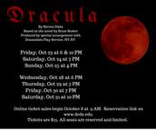 Fall Play: Dracula