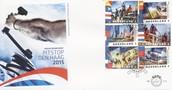 FDC 715: Volvo Ocean Race, Pitstop Den Haag