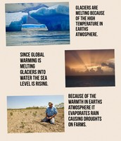 Ways global Warming is effecting the Earth and us