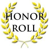2nd Quarter Honor Roll