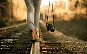 Walking along the tight rope
