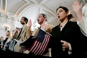 10 steps to becoming a U.S. citizen.