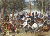 Americans fighting the indians