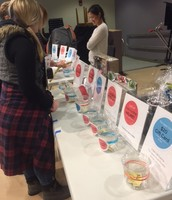 Many Estabrook parents & local business owners generously donated to the raffle table!