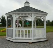 An addition to your garden beauty-- gazebo