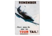 RAF Spitfire Wall Plaque