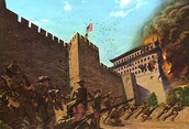 Soldiers Storm Chinese Fortress