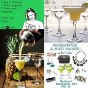 February 22 - National Margarita Day