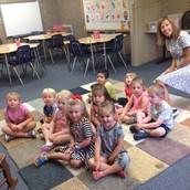 Junior Kindergarten in Maestra De la Rosa's class!