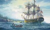 Captain Arthur Phillip's arrival