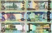 Untied Arab Emirates Dirham (Dubai money)