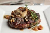 Braised Beef with Garlic, and Thyme