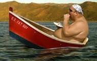 Boats + big people = Error.