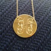 Custom engravable jewelry