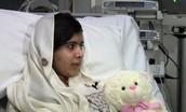 Malala recovering