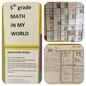 Math In My World From Ms. Ruiz's 5th Grade Panthers!