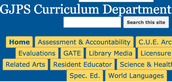 GJPS Curriculum Department Resources